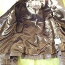 Женская кожанная куртка-френч(привозная), в Москве