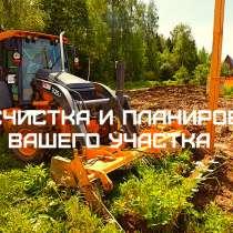 Спиливание деревьев и корчевание пней. Расчистка участка, в Воронеже