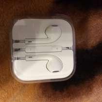 Наушники apple от IPhone 5s, в Перми