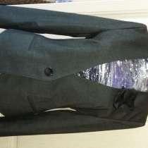 Пиджак серый новый, в Новосибирске