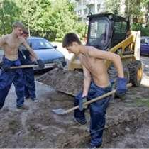 Землекопы/облагораживание участка, в Тольятти