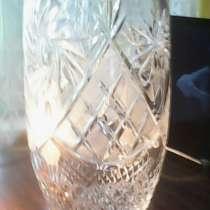 Хрустальная ваза для цветов. Новая!, в г.Баку