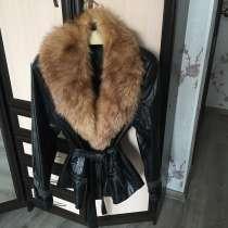 Куртка-пиджак со съемным лисьим воротником. Р-р 46-48, в Челябинске