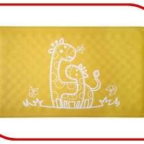 Антискользящий резиновый коврик для ванны Roxy-Kids BM-M164Y Yellow, в Москве