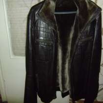 Куртка кожаная зимняя новая, высшего качества, в Кемерове