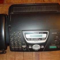 Факс Panasonic KX - FT 78. Практически новый телефон-факс, в Видном