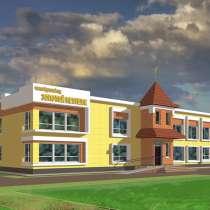 Проект частного детского сада 25-50 мест, в Новосибирске