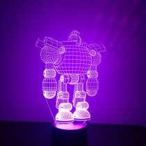 Светодиодный 3Д ночник, в Череповце
