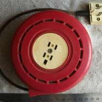 Винтажный телефонный удлинитель на катушке. СССР, в г.Москва