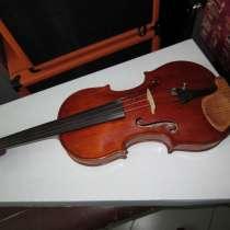 Скрипка Ивана Варычева мастеровая под Гварнери, выпуск 1984г, в Симферополе