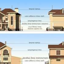 Продам проект загородного дома площадью 320 м2, в Тюмени