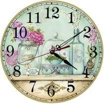 Часы в стиле прованс и шебби-шик, в Москве