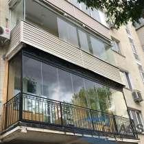 Безрамное остекление балконов и лоджий, в Москве