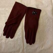 Перчатки женские Labbra LB-PH-48 бордовые, в г.Москва