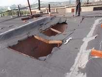Ликвидация проломов в крышах гаражей, в Новокузнецке