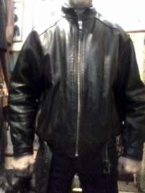 Продаю куртку кожаную мужскую, б/у, в хорошем состоянии, в Барнауле