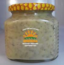 Мёд цветочный с семечками подсолнечника (полезная вкусняшка), в Казани