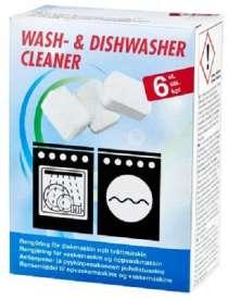 Таблетки для очистки посудомоечной, стиральной машины FIN, в Санкт-Петербурге