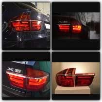 Задние фонари BMW X5 E70, в Москве