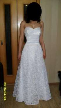 свадебное платье р-р 44-46, в Владимире