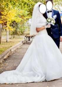 Эксклюзивное дизайнерское свадебное платье, в Дзержинске