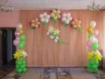 Оформление шарами, в г.Семей