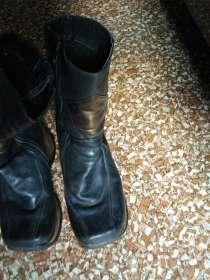 Кожаные сапожки, в г.Лозовая