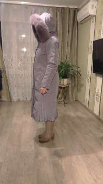 Продаю зимнее пальто. Наполнитель натуральный пух. Новое, в Москве