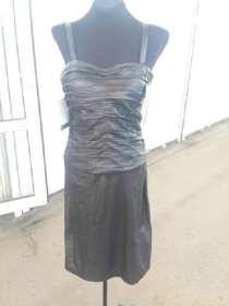 Кожаное платье, р-р 40, в г.Алматы