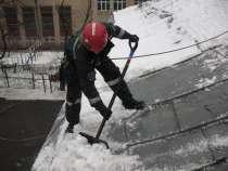 Уборка снега и наледи с крыш, в Дубне