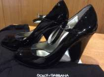 Лаковые туфли Dolce&Gabbana, в Астрахани