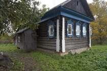 Бревенчатый рубленый дом на фундаменте, в тихой деревне, в Мытищи