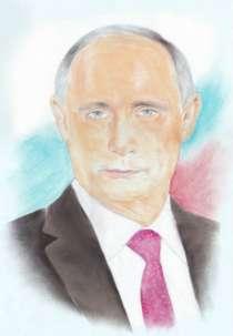 Портрет Путина, в Балаково