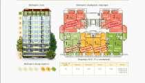 Продается 1-к квартира в г. Севастополь. Площадь 42 м², в г.Севастополь