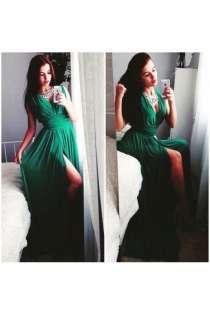 Вечернее платье с декольте артикул - Артикул:  Ам8020-22, в Ставрополе