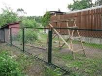 Секции заборные из сетки рабицы, в Краснодаре