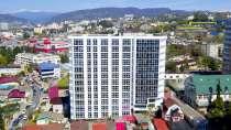 Квартира на 8 этаже нового жилого комплекса, в Сочи