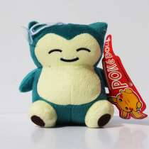 Мягкая игрушка покемон Снорлакс (Snorlax) на присоске, в Перми