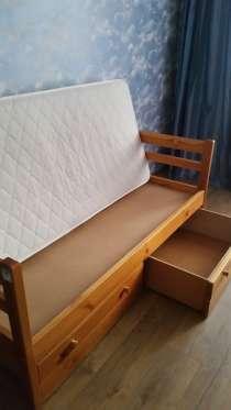 """Дет. кровать """"Подросток"""" 80х170 из массива дерева, в Москве"""