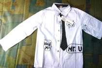 Нарядная рубашка с галстуком на мальчика 6-7лет, в г.Гродно