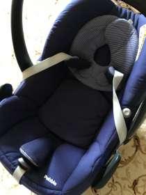 Автокресло Maxi-Cosi Pebble синее почти новое, в Москве