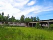 Продам земельный участок и зерносклад в д. Каюрово Кимрского, в г.Кимры