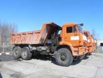 самосвал КАМАЗ 65222, в Ханты-Мансийске
