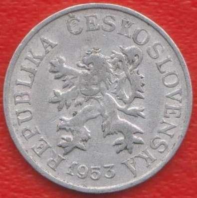 Чехословакия 3 геллера 1953 г.