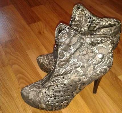 Женские тканевые туфли