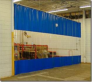 Шторы ПВХ для гаражей