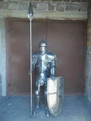 Скульптуры средневековых рыцарей из металла в г. Белореченск Фото 2