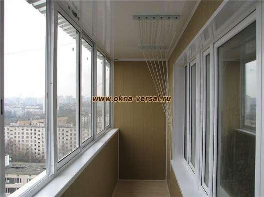 Остекления-отделка балконов