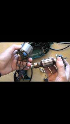Перемотка и ремонт электродвигателя и электроинструмента
