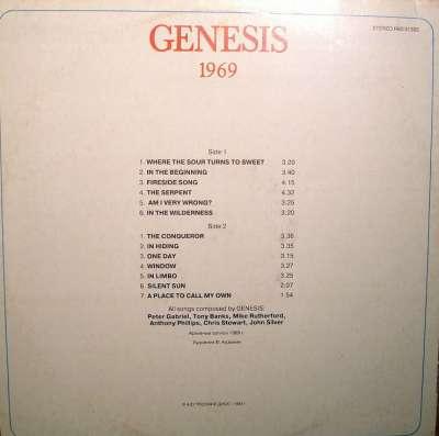 Genesis – 1969